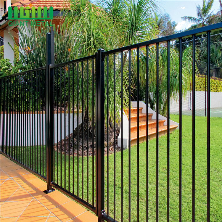 outdoor wrought iron fence