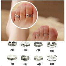 Korean style personality fashion footwear toe ring Korean foot ring