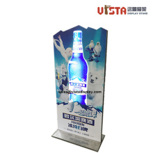 Customized Flashing Sign Metal Beverage Pop Display Stand