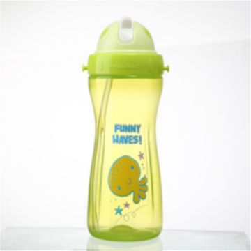 Kids Safety Water Drinking Straw Bottle XL