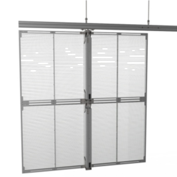 Outdoor P16 Led Glass Wall Screen