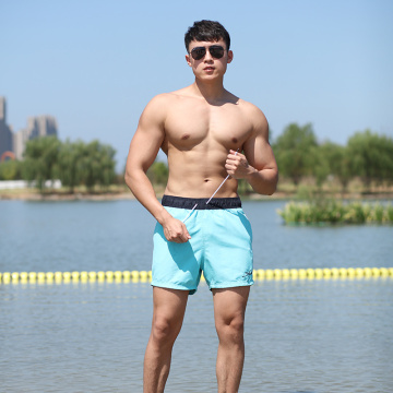 120GSM Quick-dry Men's Swimming Trunks