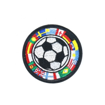 Customize Soccer Embroidery Patch Clothes Iron on