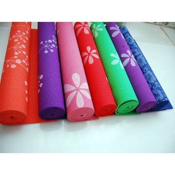 Pvc yoga mat of Printing