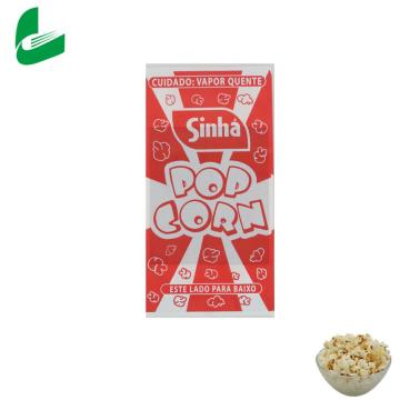 Personalized easy microwave coloured packaging microwave popcorn paper bags
