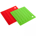 FDA Approved Silicone Square Pot Holders Kitchen Tools