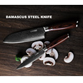 7'' Damascus Japanese Chef Knife