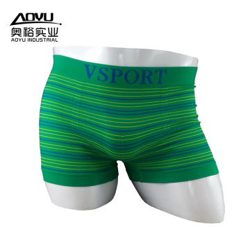 High Quality Custom Brand Seamless Men Boxer Shorts