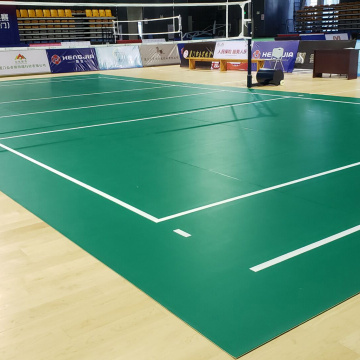 8mm sport flooring standard volleyball court flooring roll
