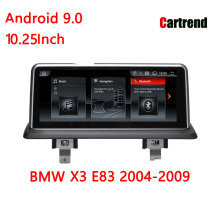 Touch screen Android BMW X3 E83 10.25