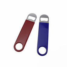 Heavy Duty Simple Rubber Stainless Steel Bottle Opener