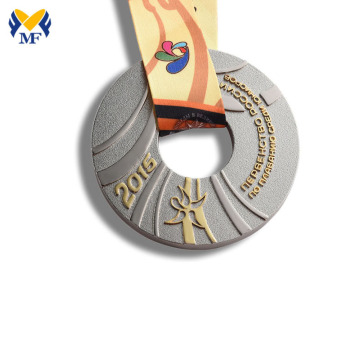 Cheap Custom Swimming Sports Medals With Ribbon