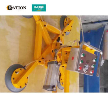 Glass vacuum suction cups lifters for loading glass