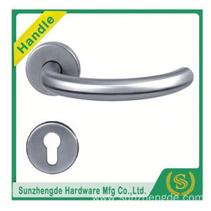 SZD STH-118 High Quality Polish And Satin Stainless Steel Mortise Lockcase Door Handles