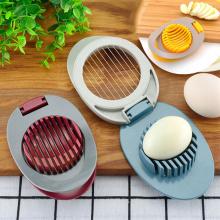 Multifunction Egg Slicers Section Cutter Divider Plastic Egg Splitter Cut Egg Device Creative Kitchen Egg Tools