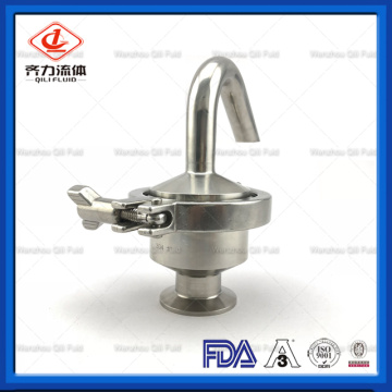 Sanitary Adjustable Air Release Breath Pressure Relief Valve