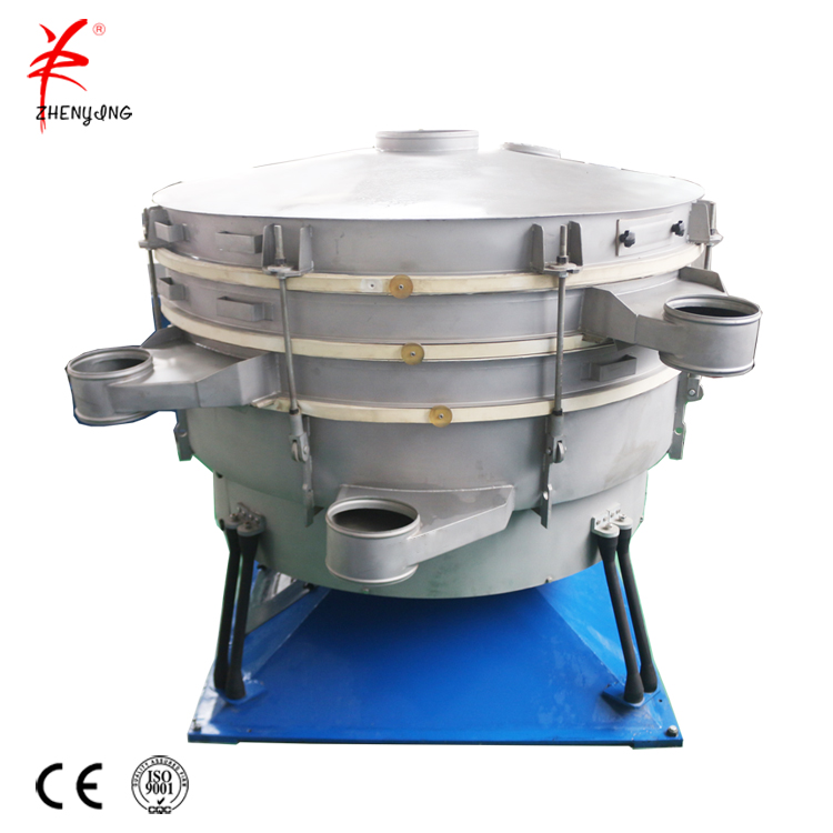 Farming draw bench pollen tumbler sieve machine