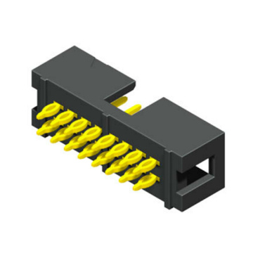 2.54mm Box Header  Connectors  Straight