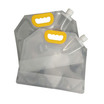 Plastic Stand Up Spout Bag