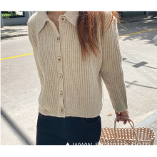 Autumn knitted cotton temperament commuter cardigan