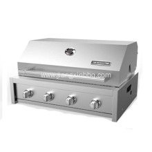 Stainless Steel 4 Burners Built-In BBQ Grill