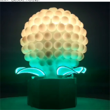 Interactive Luminous Fruit Lights