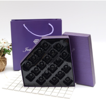 Diamond shaped empty box for chocolate