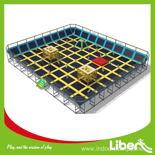 Most popular safety net fitness trampoline