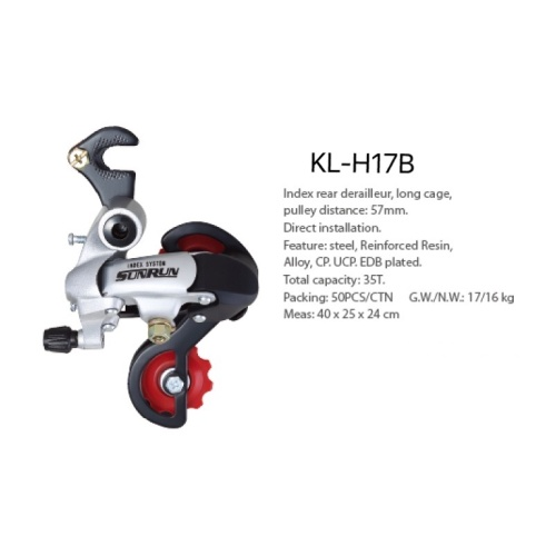 Pulley Distance 57mm Index Rear Derailleur