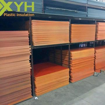 Optimal Insulating Material Orange 100mm Bakelite Sheet
