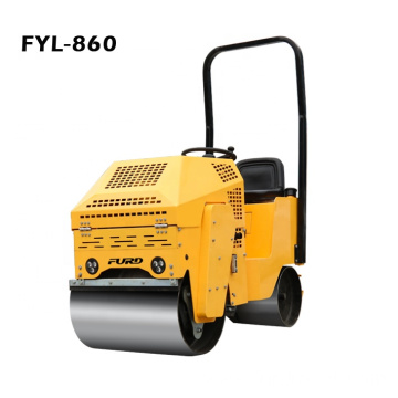 Mini Ride-on Vibrating Roller Compactor For Road Construction