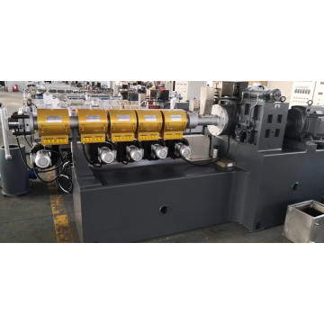 Plastic single screw granulating machine