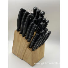 22pcs stainless steel bakelite handle kitchen knife set