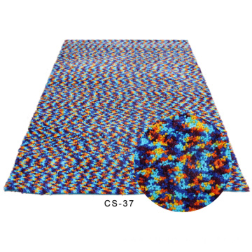 Polyester Rugs with space dyed yarn