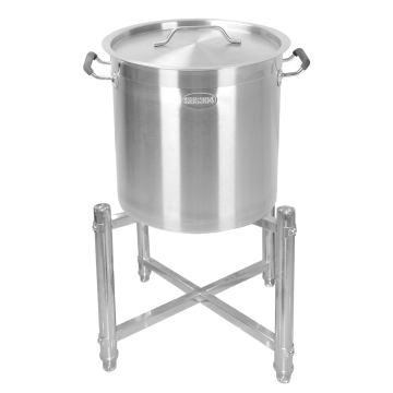 Stainless Steel Soup Bucket Rack