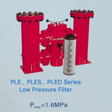 PLE PLES PLED Series Low Pressure Line Filter