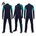 Boys Kids Polyester Half Zip Tracksuit Set