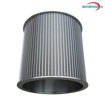 Stainless Steel Internally-fed Rotary Wedge Wire Screen