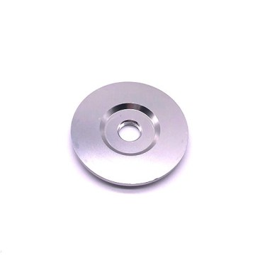 CNC lathe Stainless steel polishing spacer disc