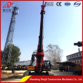 drilling rig with power head torque of 150
