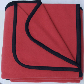 Cover Edge Brushed Fleece Blanket
