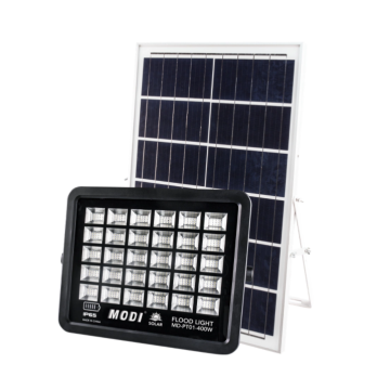 Solar floodlight safety light for courtyard