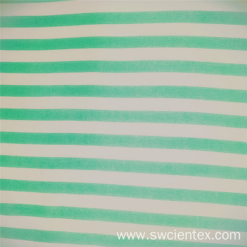 High Quality Tiffany Blue Stripes Rayon Dress Fabrics