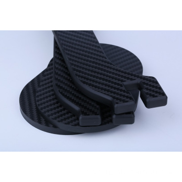 hard light carbon foot plate insert rigid rc