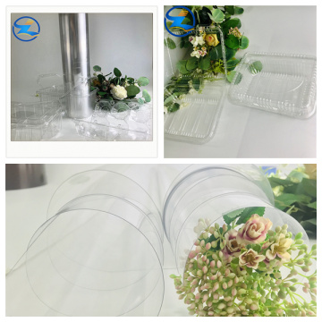Rigid Clear PET Film Sheet Rolls for packaging