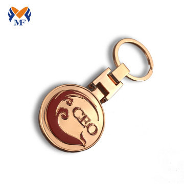 Custom hotel logo design keychain in bulk