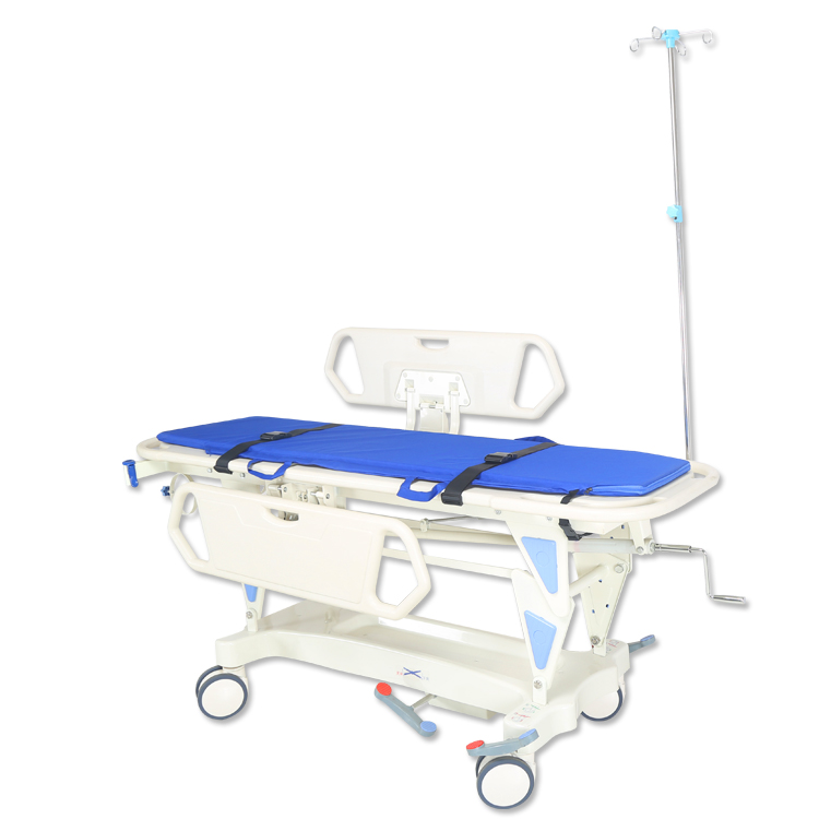 Manual Hospital Ambulance Trolley