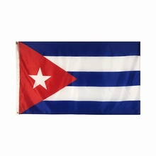 polyester 3x5ft The Republic of Cuba national flag