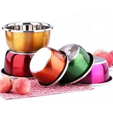 Stainless Steel High Quality Big Soup Bowl