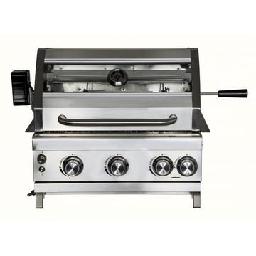 3 Burner Stainless Steel Gas Grill Head